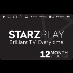 ستارز بلاي | إشتراك 12  شهر |كود رقمي | يرسل على الإيميل والرسائل النصية