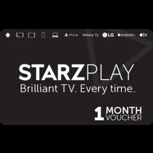 ستارز بلاي | إشتراك1 شهر |كود رقمي | يرسل على الإيميل والرسائل النصية