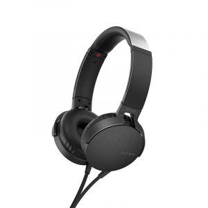 سوني سماعات رأس داخل الأذن | EXTRA BASS ™ | أسود | MDR-XB55AP