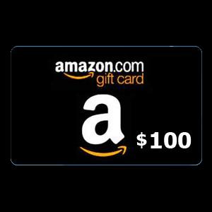امازون  امريكي 100 دولار   يرسل بالايميل والرسائل النصية