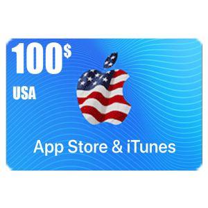 ايتونز   100 دولار امريكي   كود رقمي يرسل بالايميل و الرسائل النصية
