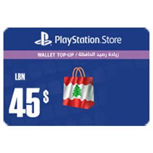 شحن المحفظة - ٤٥ دولار  (LEB Store)