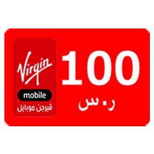 ڤيرجين   100 ريال   يرسل بالايميل والرسائل النصية