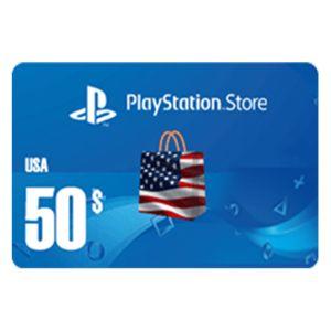 بلايستيشن ستور امريكي بطاقة رقمية   50 دولار   يرسل بالايميل و الرسائل النصية