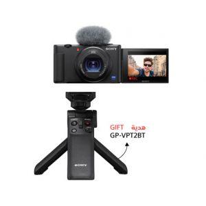 سوني ZV-1 كاميرا مدونة الفيديو مع حامل مجاني